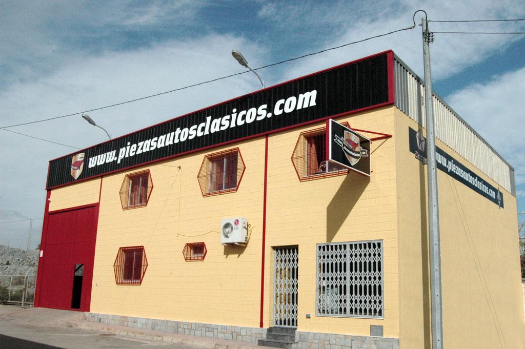 Nuestro almacén en Mazarrón, Murcia.