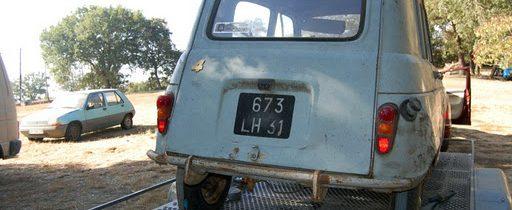 """Renault 4 Toit ouvrant de 1962 """"EL ABUELICO"""""""