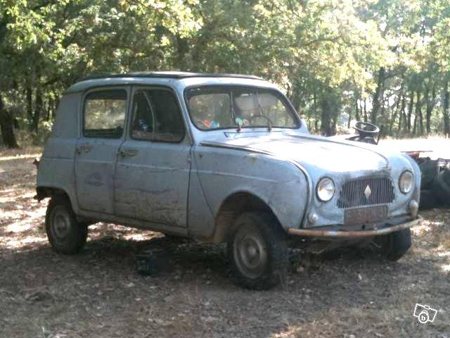 Restauración Renault 4 R1120 básico