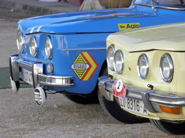Encuentro del club Renault 8 y 10 de España.